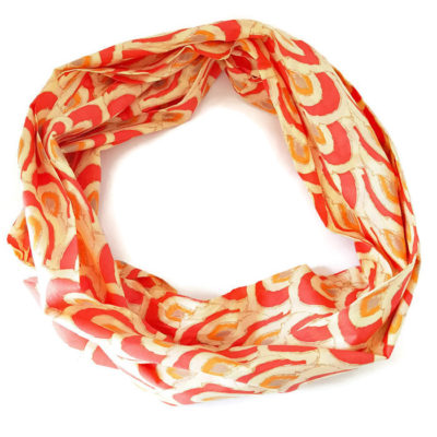 grenadine cotton voile infinity scarf