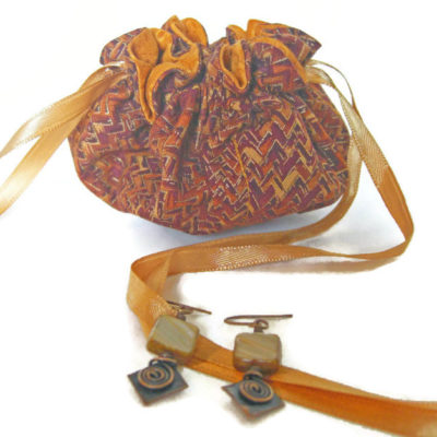 Cotton Travel Jewelry Bags